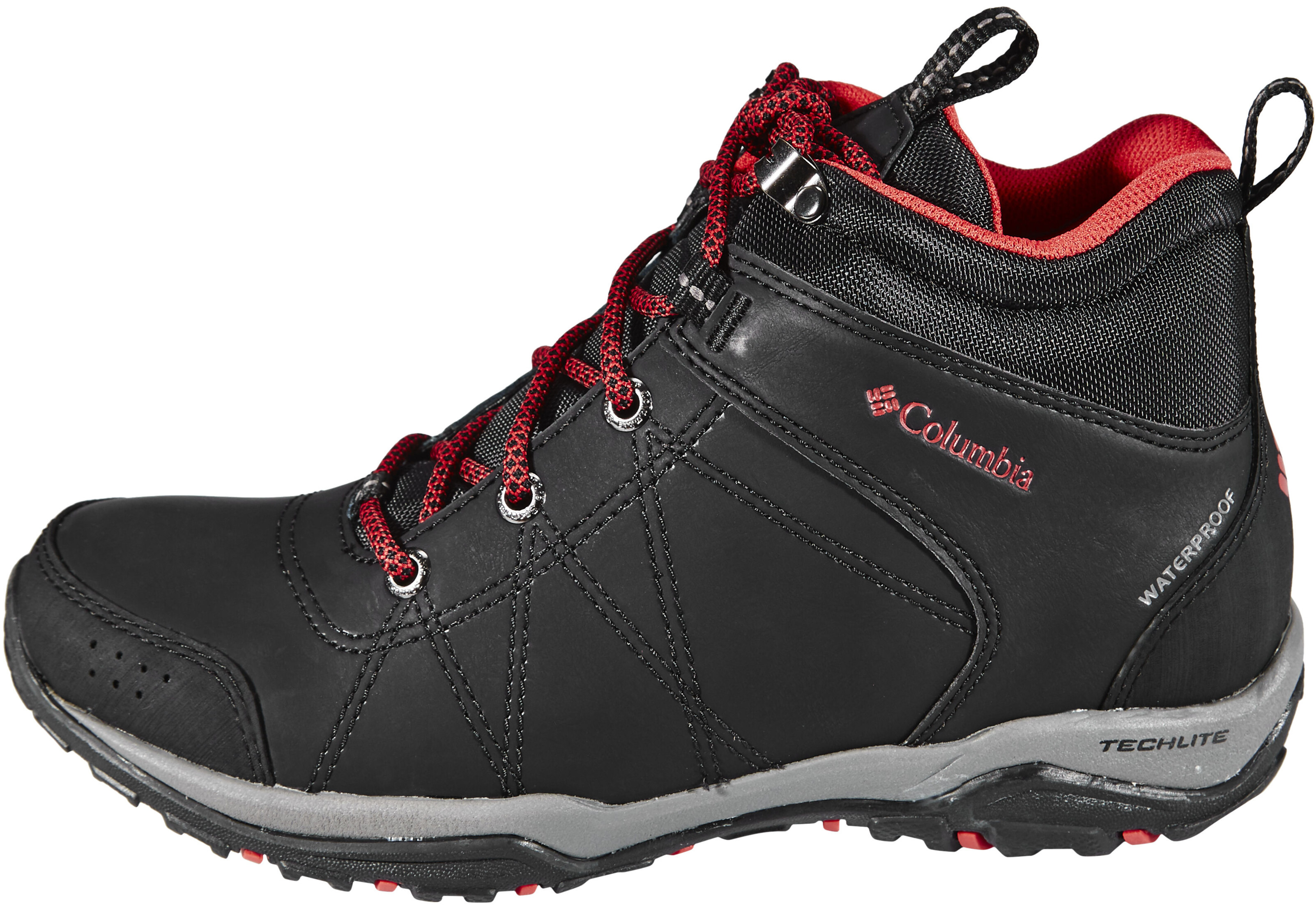 d5f46f32a5e5 Columbia Fire Venture Shoes Women Mid WP black at Addnature.co.uk